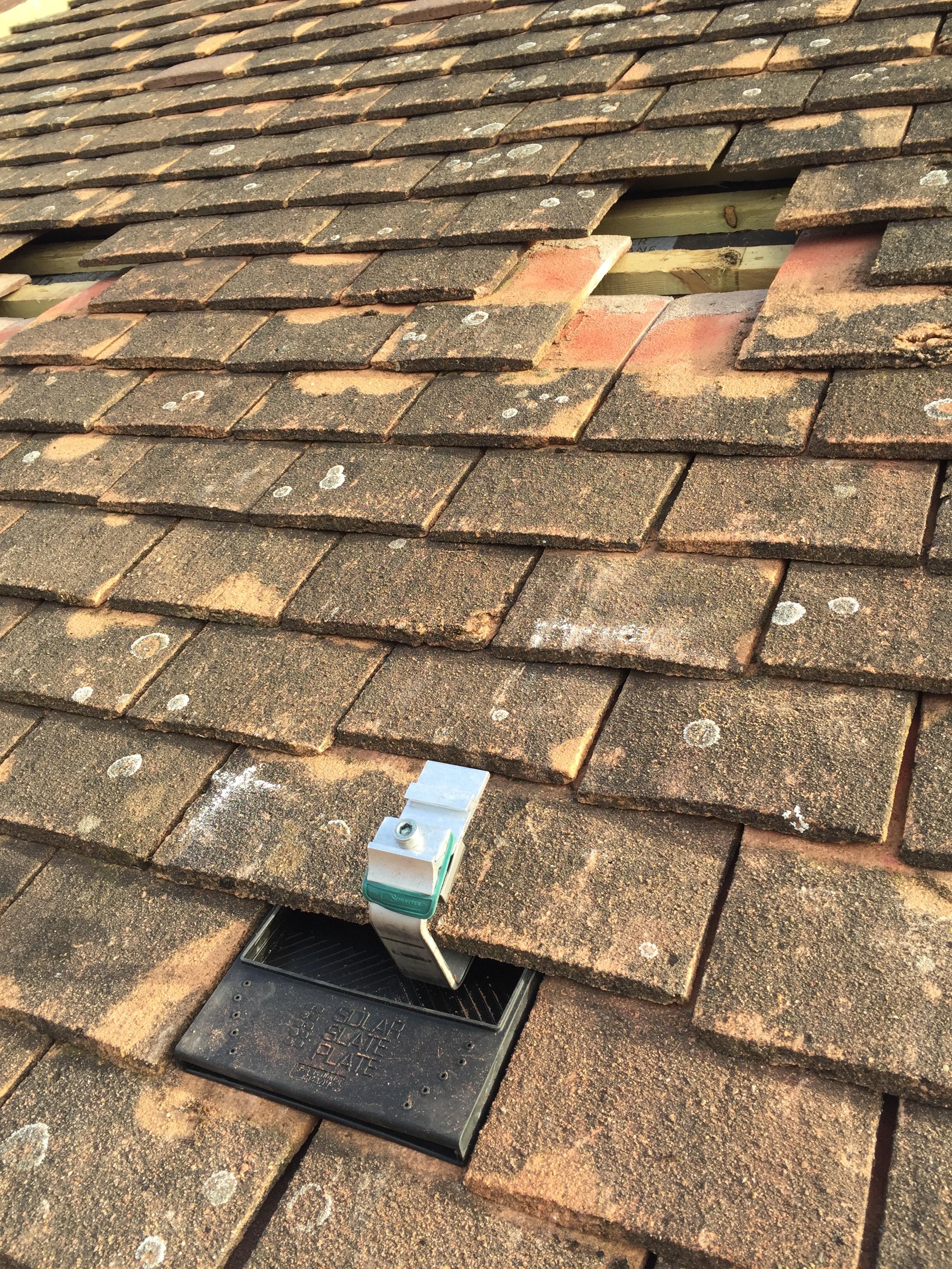 Eric Tile Solar Slate Plate Plain Tile Roof Hook